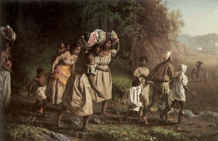 Slaves Running for Freedom